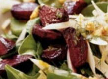Detoxifying recipe - beet fennel salad