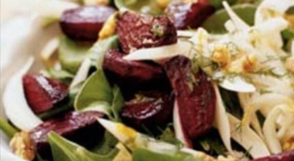 Detoxifying recipe - beet fennel salad