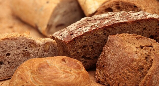 Gluten foods
