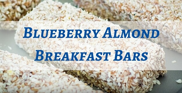 Blueberry breakfast bars recipe