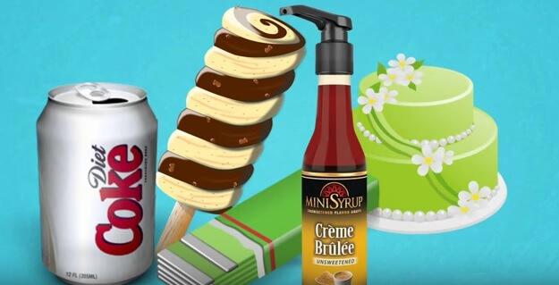 Artificial sweetener aspartame health risks