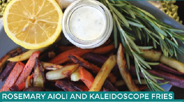 Fries & aioli recipe