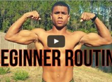 Calisthenics workout video for beginners