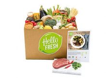 Hello Fresh meal boxes review