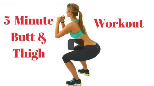 5-Minute Butt & Thigh Workout