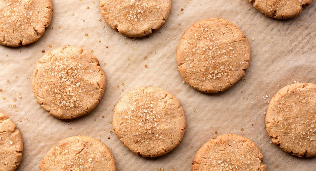 Natural peanut butter cookies recipe