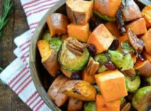 Brussels sprouts and sweet potatoes recipe