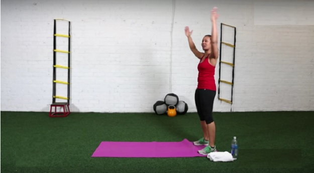 Home circuit workout video