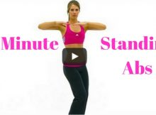 10-Minute standing abs workout