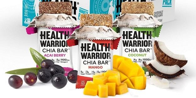Health Warrior Chia Snack Bars