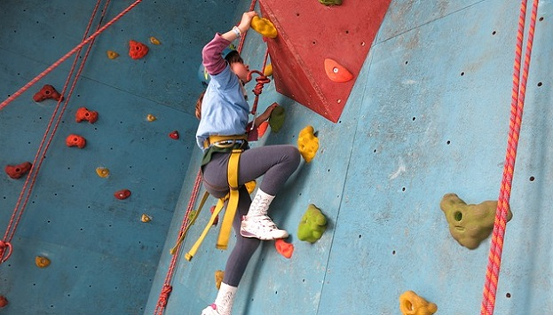 Indoor rock climbing fitness benefits