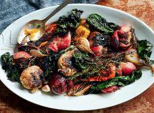 Crispy roasted root vegetables recipe