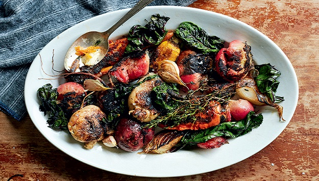 Crispy roasted root vegetables recipe