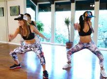 Hip-hop dance workout