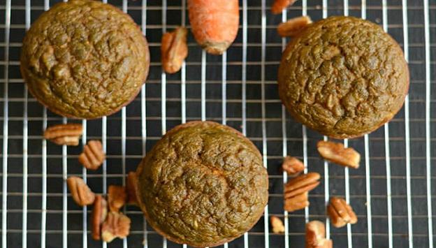 Healthy Paleo breakfast muffins