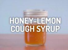 DIY Homemade Natural Cough Syrup Recipe
