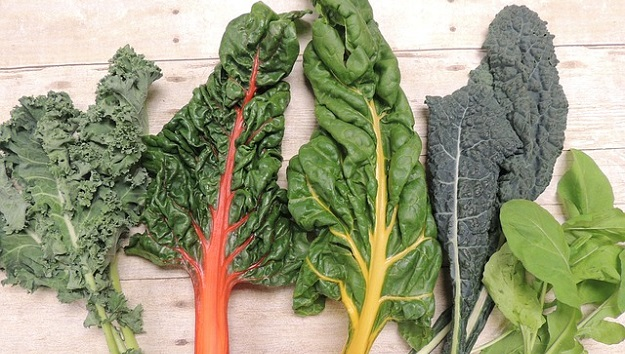 Veggies high in healthy fatty acids