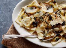 Butternut squash & Sausage ravioli