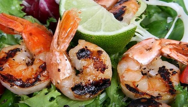 Grilled Shrimp Diabetic-friendly recipe