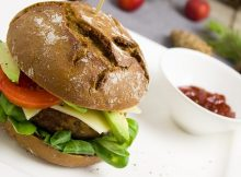 Vegetarian Black Bean Burgers recipe
