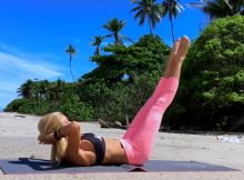 25-Minute Full-Body Toning Pilates Mat Workout Video