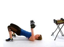 Upper body strength workout video