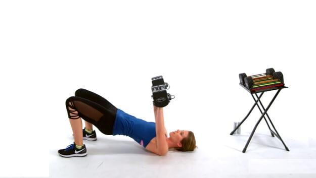 Upper body strength workout video