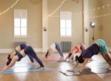 High-intensity yoga workout