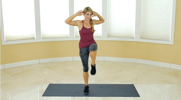 Low-impact HIIT workout video