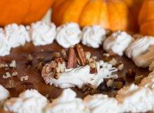 Pumpkin spice swirl cheesecake recipe