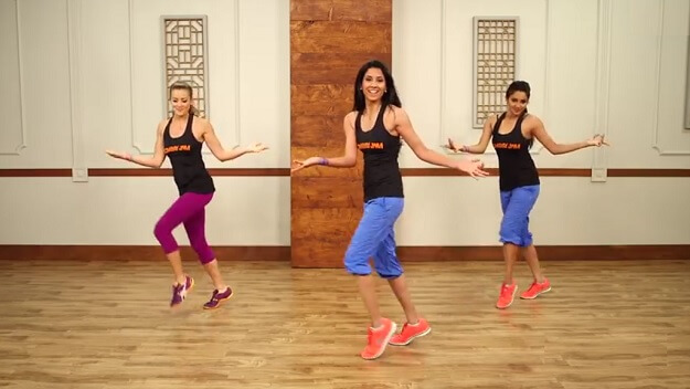 Bollywood dance workout video