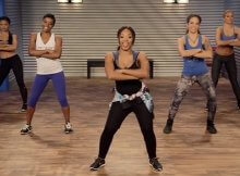 Hip hop cardio dance workout video