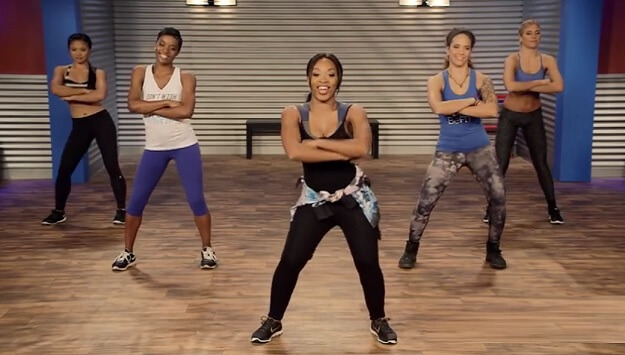 Hip hop cardio dance workout video