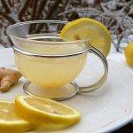 Hot lemonade anti-viral immune boosting tonic