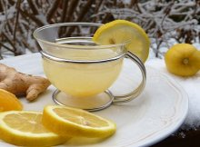 Hot lemonade anti-viral immune boosting tonic