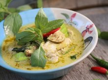Low-carb Thai Red Curry recipe