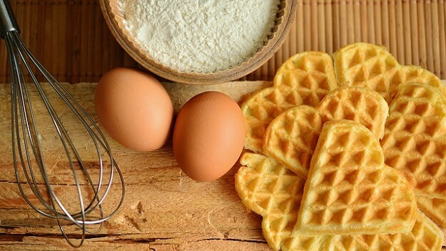Gluten-free cornmeal waffles recipe