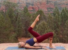 Pilates mat workout video
