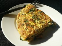 Holiday leftovers frittata recipe