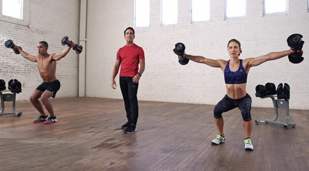 5-minute full-body workout video