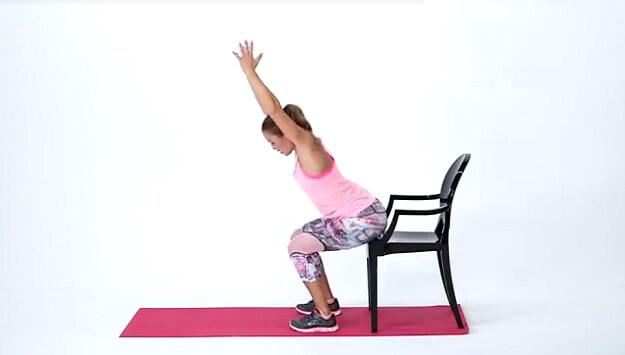 Beginner bodyweight workout video