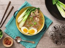 Gluten-free homemade ramen recipe