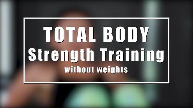 Bodyweight Strength Training Workout video
