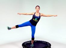 Cardio trampoline workout video