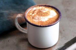 Pumpkin honey turmeric latte recipe