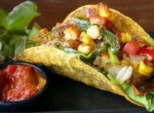 Healthy tostadas recipe