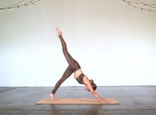 Vinyasa yoga flow workout video