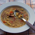 Bean & Ham Soup budget meals