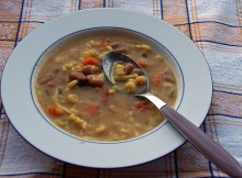 Bean & Ham Soup budget meals