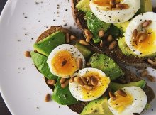 Keto Avocado Toast with eggs recipe